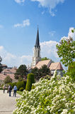 Catholic parish church Maria Hietzing near Schonbrunn palace in Vienna Stock Image