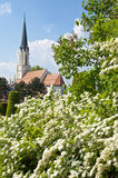Catholic parish church Maria Hietzing near Schonbrunn palace in Vienna Stock Photos