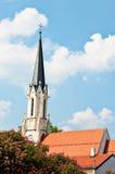 Catholic parish church Maria Hietzing near Schonbrunn palace in Vienna Royalty Free Stock Photos