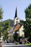 Catholic parish church of Oberstaufen in Bavaria Stock Photography