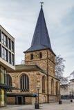 St. Johann Baptist church, Essen, Germany. The Catholic parish church of St. Johann Baptist, Essen, Germany royalty free stock photo