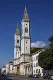 Catholic Parish and University Church Ludwigskirche in Munich, G Royalty Free Stock Photo