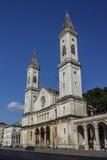 Catholic Parish and University Church Ludwigskirche in Munich, G Royalty Free Stock Image