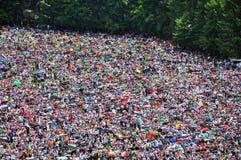 Catholic pilgrims celebrating the Pentecost in Szeklerland, Roma Royalty Free Stock Photo