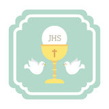 Catholic religion. Design, vector illustration eps10 graphic Royalty Free Stock Image