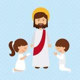 Catholic religion design. Vector illustration eps10 graphic royalty free illustration