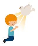 Catholic religion design. Vector illustration eps10 graphic Stock Photos