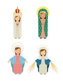 Catholic religion design. Vector illustration eps10 graphic Royalty Free Stock Photos