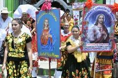 Catholic religious celebration of the Sacred Heart of Christ Stock Photo