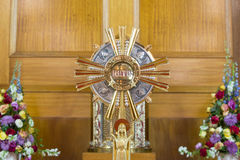 Catholic religious cross Stock Images