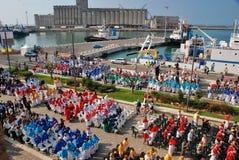 Catholic religious festival on September 27 in Civitavecchia Royalty Free Stock Photo