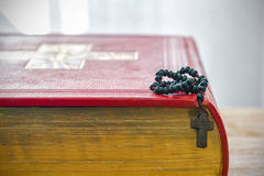 Catholic rosary beads Royalty Free Stock Photography