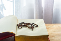 Catholic rosary beads Royalty Free Stock Photo