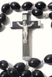 Catholic rosary with crucifix Royalty Free Stock Image