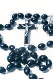 Catholic rosary with crucifix Royalty Free Stock Photo