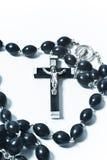 Catholic rosary with crucifix Stock Photography