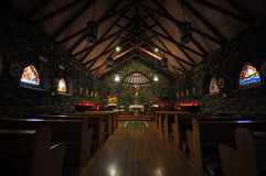 Catholic Sanctuary - Interior Royalty Free Stock Photo