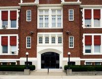 Catholic School Entrance stock photography