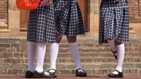 Catholic School Girls. Group of Catholic School Girls Stock Images