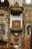 Catholic temple. Royalty Free Stock Images