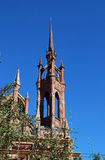 Catholic temple. Roman Catholic Parish of Blessed Heart of Jesus in Samara. Russia royalty free stock image