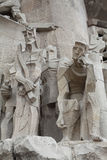 Sagrada Familia. Figures.. Stock Photos