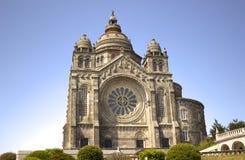 A Catholic temple of Santa Luzia Royalty Free Stock Photography