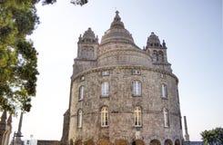 The Catholic temple of Santa Luzia Royalty Free Stock Photo