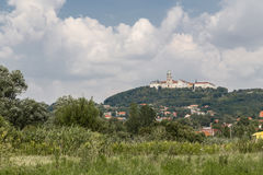 Catholic territorial abbey. In Hungary, in the town of Pannonhalma. Hungary Stock Image