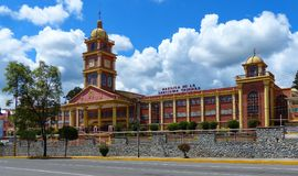 Catholic University of Cuenca or Universidad Catolica de Cuenca. Cuenca, Ecuador. Catholic University of Cuenca or Universidad Catolica de Cuenca royalty free stock image