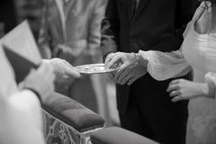 Catholic wedding religious marriage church ceremony Stock Photo