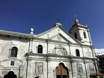 Catholicism. Basilica Minore del Sto. Niño is the oldest Catholic Church in Cebu royalty free stock images