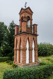 Catholicism in Poland. Wayside chapel in Brusy commune, Cassubia region of Poland royalty free stock images