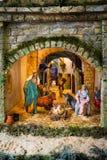 Catholicisme, repaire, Noël photographie stock libre de droits