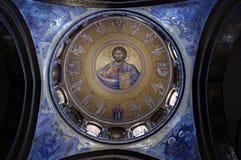 catholikonkupol jerusalem Royaltyfri Foto