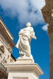 Cathredal principal de Ortigia Foto de archivo