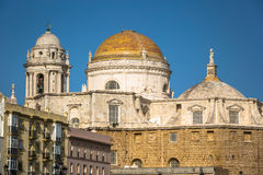 Cathredral in Cadiz, southern Spain Stock Image