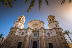 Cathredral in Cadiz, southern Spain Royalty Free Stock Image