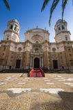 Cathredral in Cadiz, southern Spain Royalty Free Stock Photography