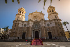 Cathredral in Cadiz, southern Spain Stock Photography