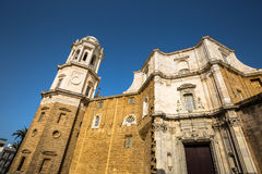 Cathredral in Cadiz, southern Spain Stock Photo