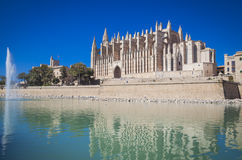 The cathredral of Palma Royalty Free Stock Images