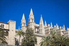 The cathredral of Palma Royalty Free Stock Photos