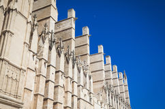 The cathredral of Palma Stock Photography