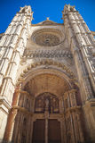 The cathredral of Palma Stock Photo