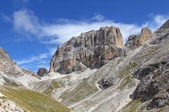 Catinaccio d'Antermoia peak Royalty Free Stock Photo