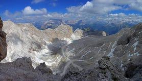 Catinaccio d ` Antermoia szczyt zdjęcie stock