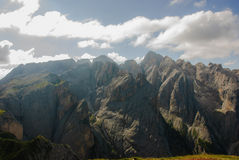 The Catinaccio dolomites Stock Images
