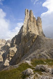 Catinaccio mountain Royalty Free Stock Image