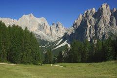 Catinaccio mountain, Italian Dolomites Stock Image